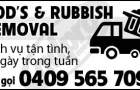 Rods Rubbish Removal