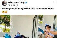 Đàm Thu Trang cùng con gái tự tay chuẩn bị sinh nhật cho Subeo, Cường Đôla tung món quà cực đặc biệt