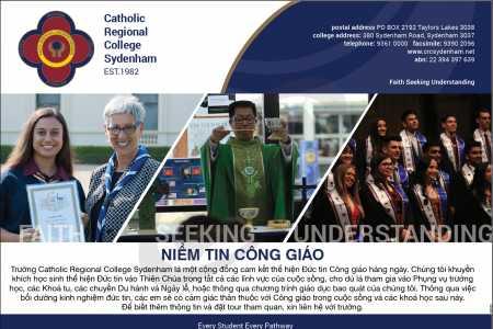 Catholic Regional College Sydenham