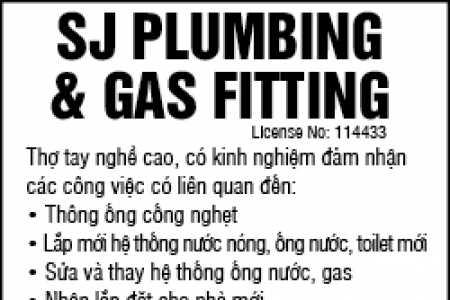 SJ Plumbing & Gas Fitting