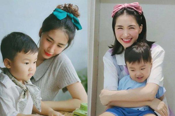 'Tiểuthiếu gia' nhà Hoà Minzy chưa tròn 2 tuổi đã đánh vần vanh vách
